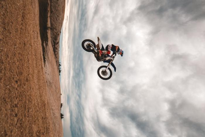 Ολική καταστροφή μοτοσικλέτας τεχνικούς λόγους